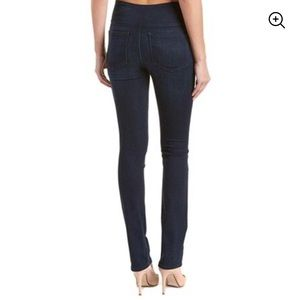 Spanx Signature Straight High Rise Side Zip Jean